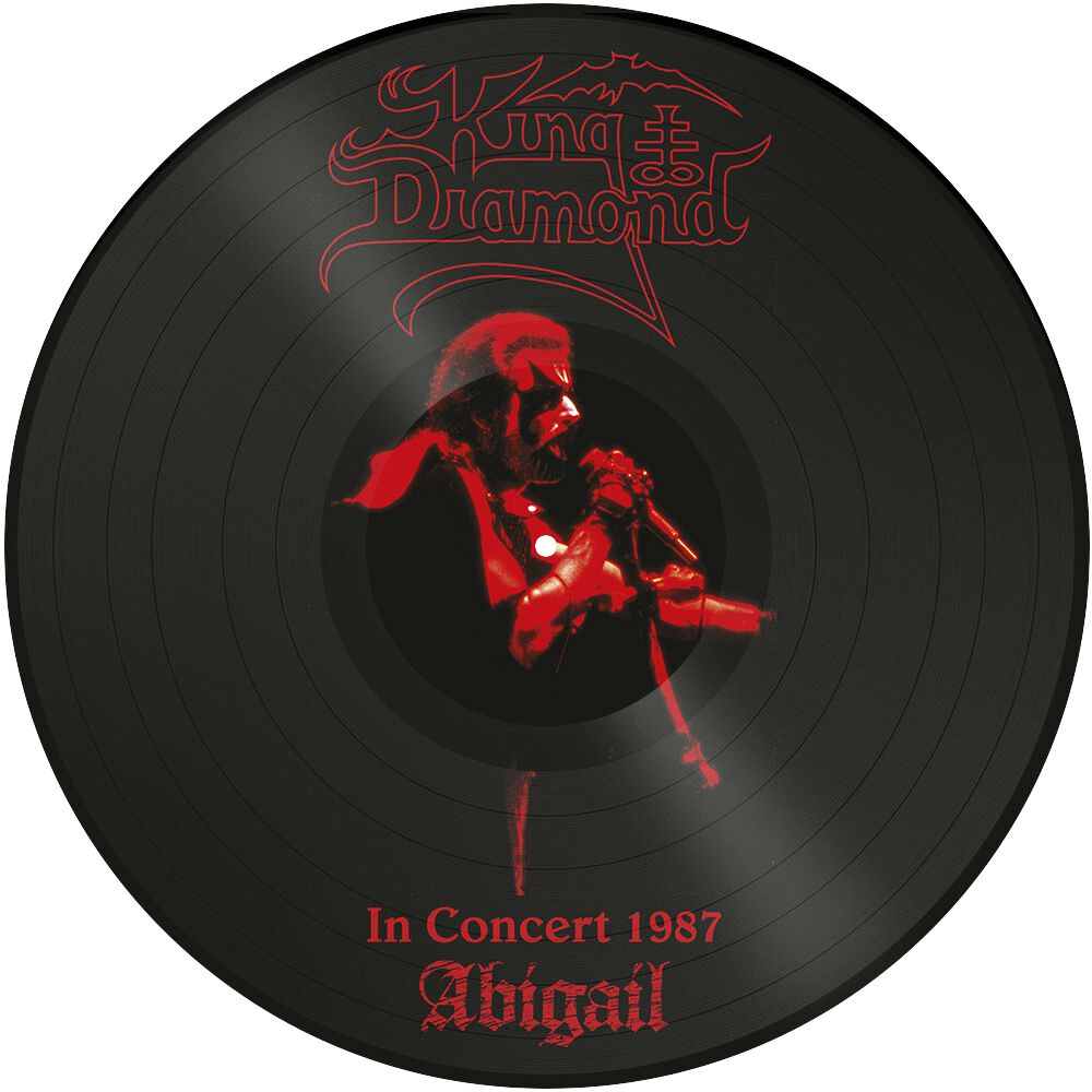 Image of   King Diamond Abigail - In concert 1987 LP standard