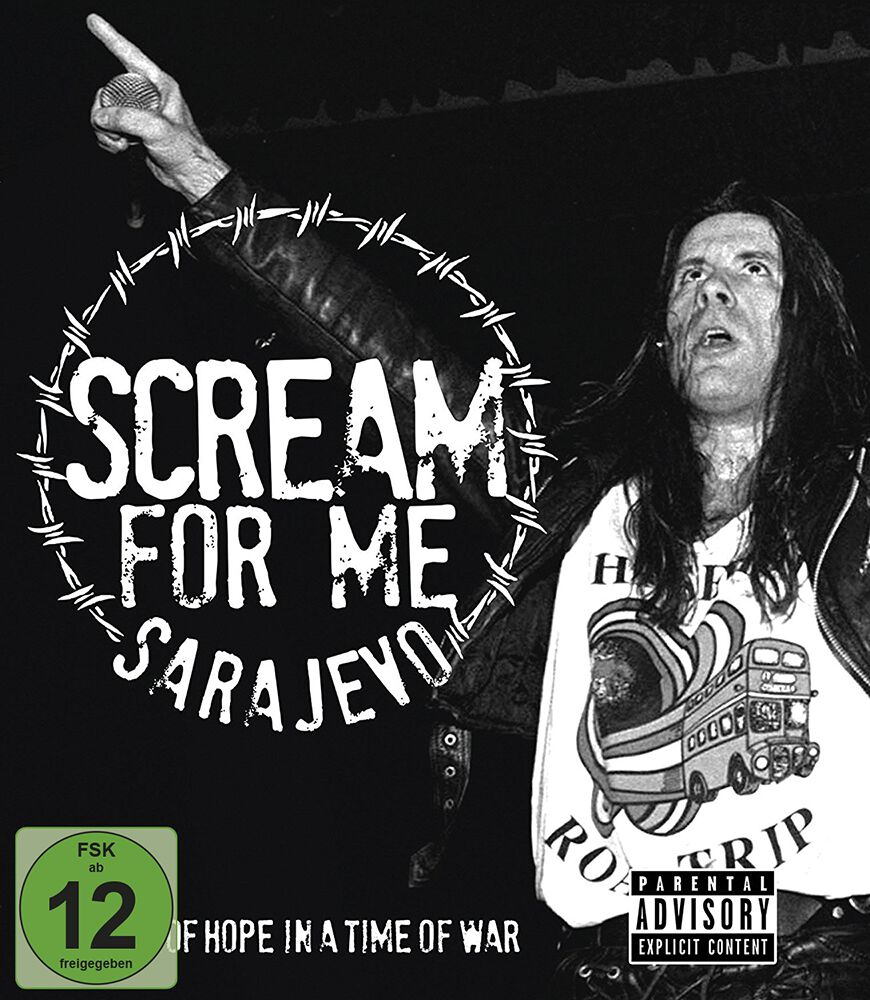 Image of   Bruce Dickinson Scream for me Sarajevo DVD standard