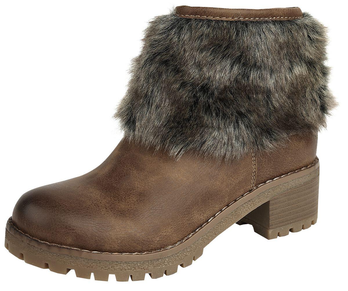 d440d45a5c5d Stiefel für Frauen - Refresh Faux Fur Boot Boots camel - Onlineshop EMP