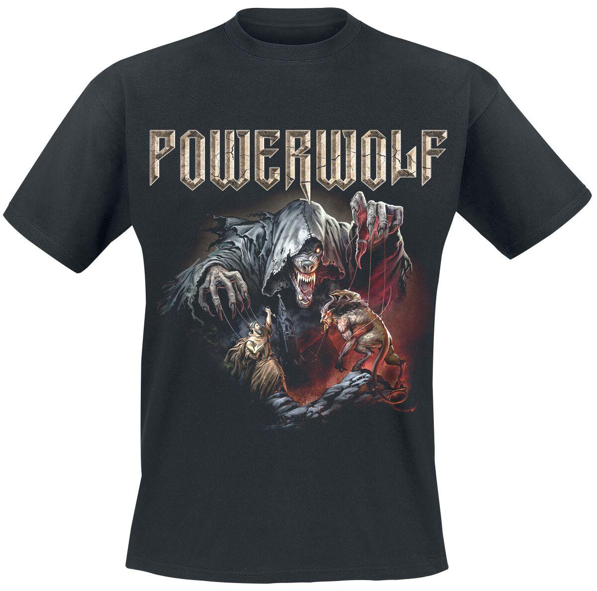 Image of   Powerwolf The Sacrament Of Sin T-Shirt sort