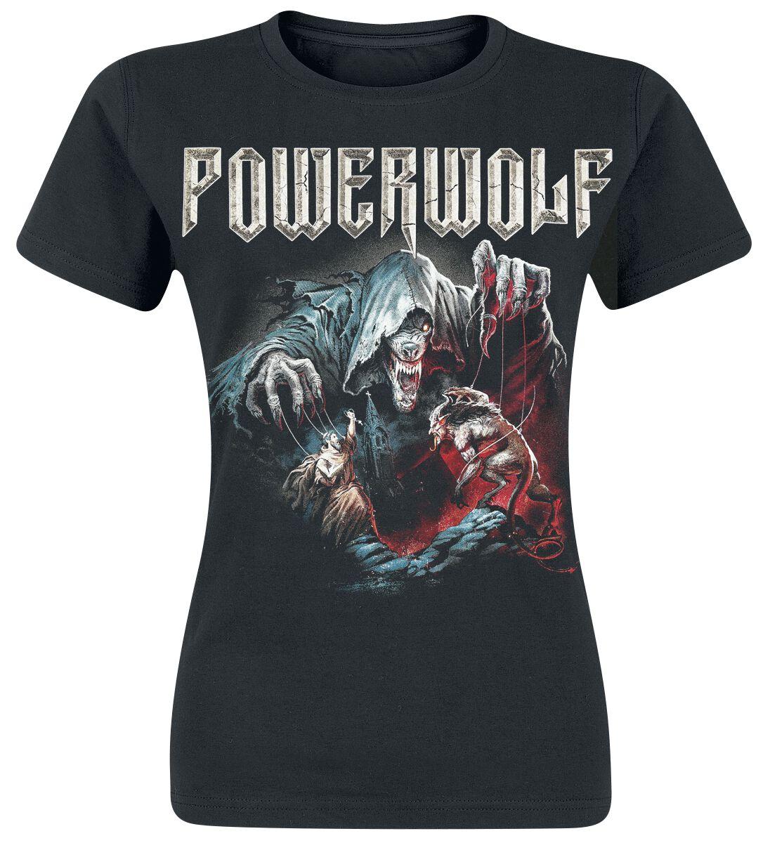 Image of   Powerwolf The Sacrament Of Sin Girlie trøje sort