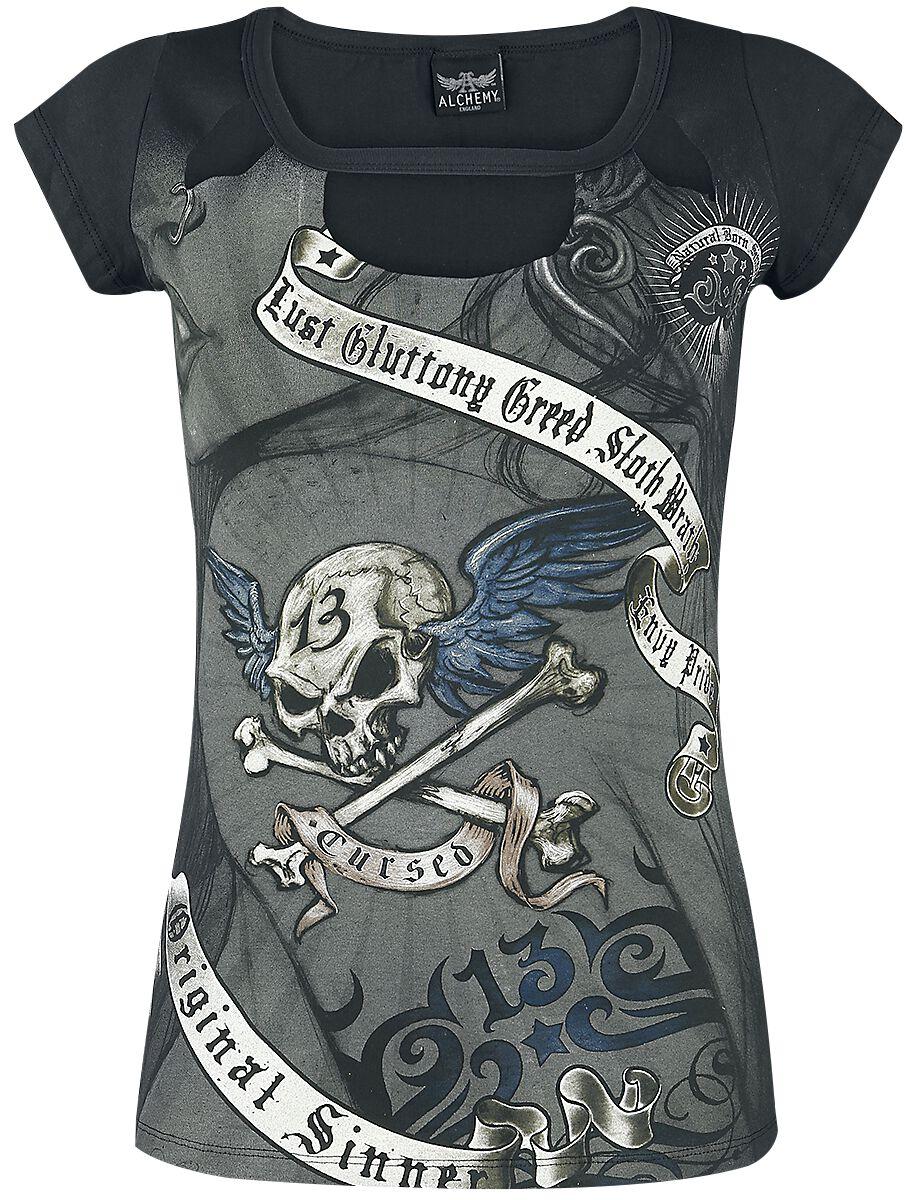 Alchemy England Varese Cursed Koszulka damska czarny