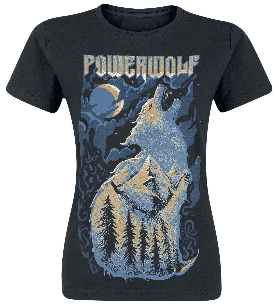Image of   Powerwolf Demons Are A Girl's Best Friend Girlie trøje sort