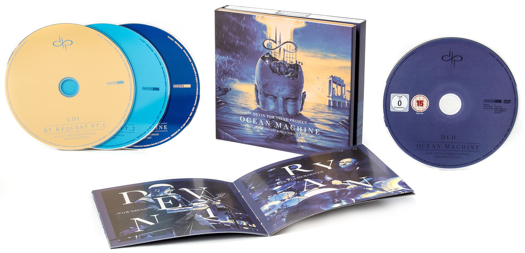 Devin Townsend Project Ocean machine - Live at ...
