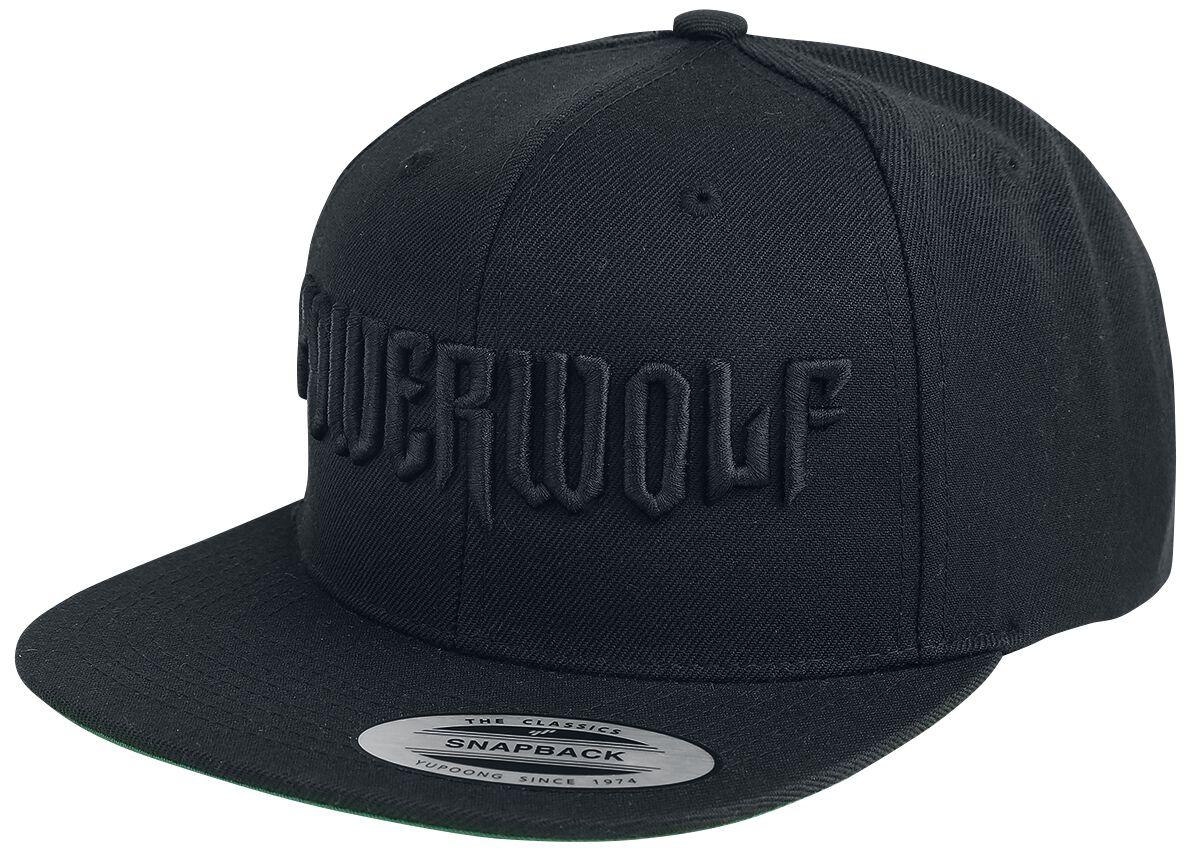 Image of   Powerwolf Logo Snapback Cap sort