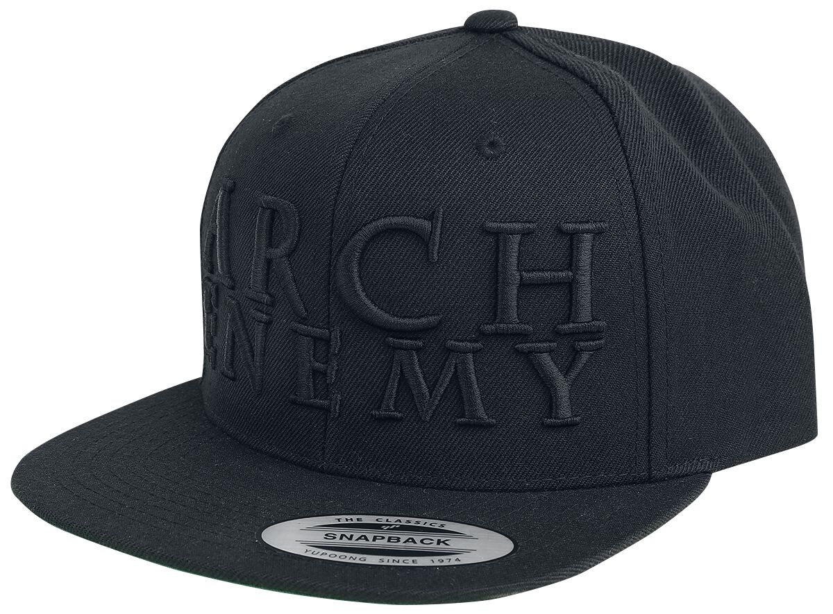 Image of   Arch Enemy Logo Snapback Cap sort