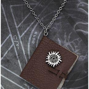 Supernatural Journal Collier couleur argent