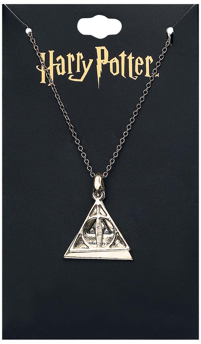 Image of   Harry Potter Deathly Hallows Halskæde guld