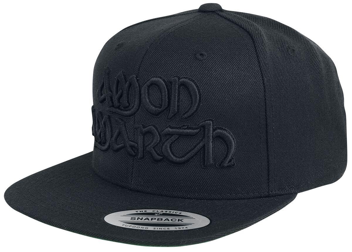 Image of   Amon Amarth Logo Snapback Cap sort
