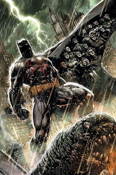 Image of   Batman Bloodshed Plakat multifarvet