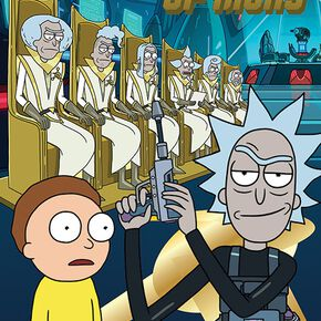 Rick & Morty Council of Rick Poster multicolore