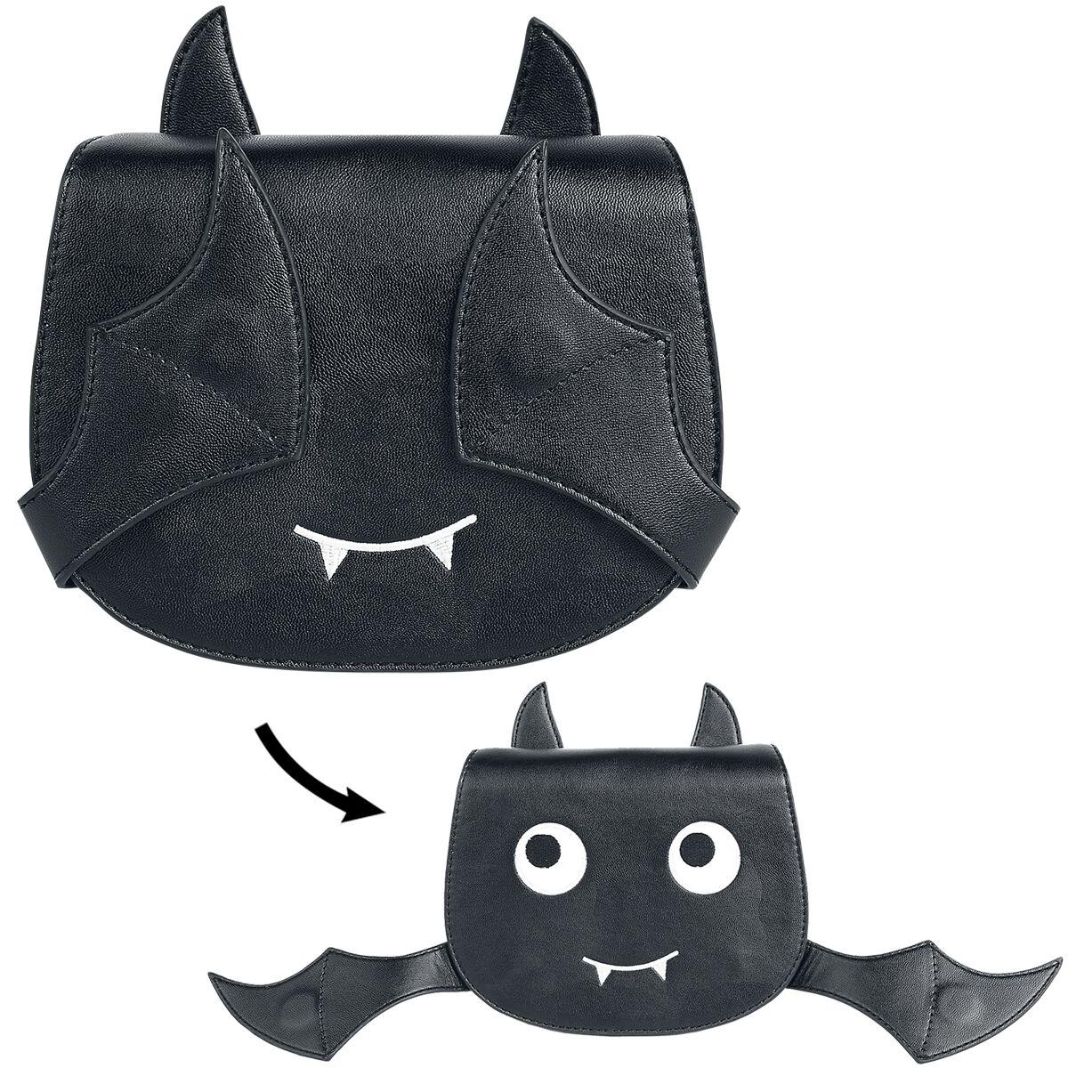 Image of   Banned Alternative Release The Bats Skuldertaske sort