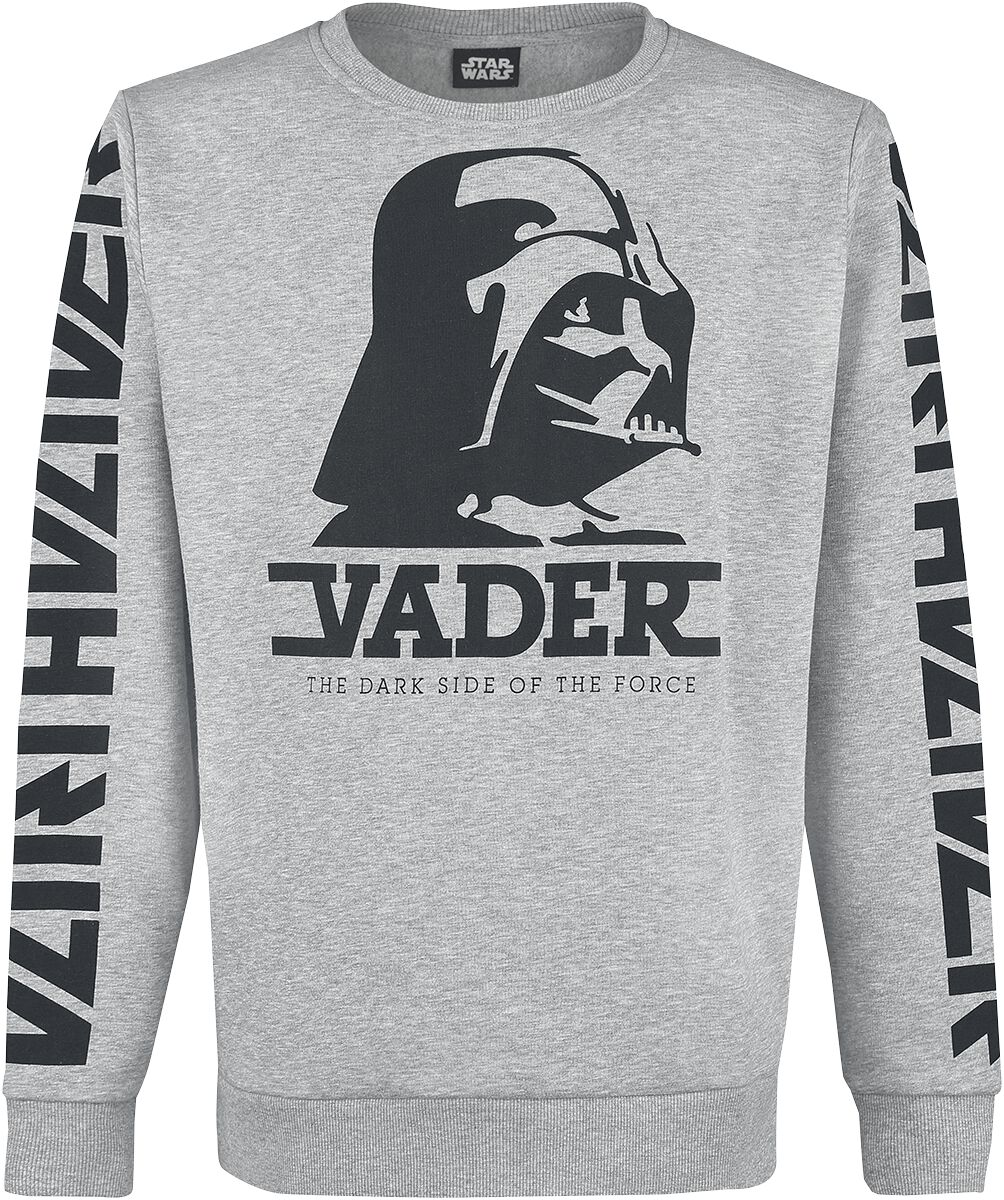 Image of   Star Wars Darth Vader Sweatshirt grålig