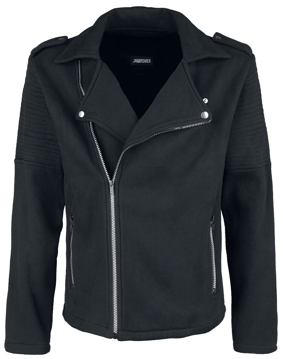 Image of   Jawbreaker Biker Style Jacket Jakke sort