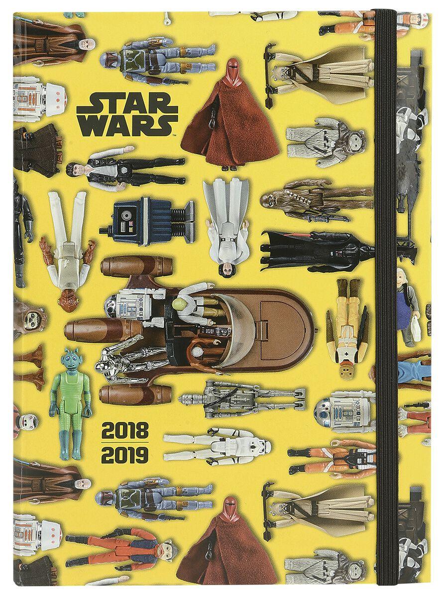 Image of   Star Wars 2018/2019 Kalenderbuch Kalenderbog multifarvet