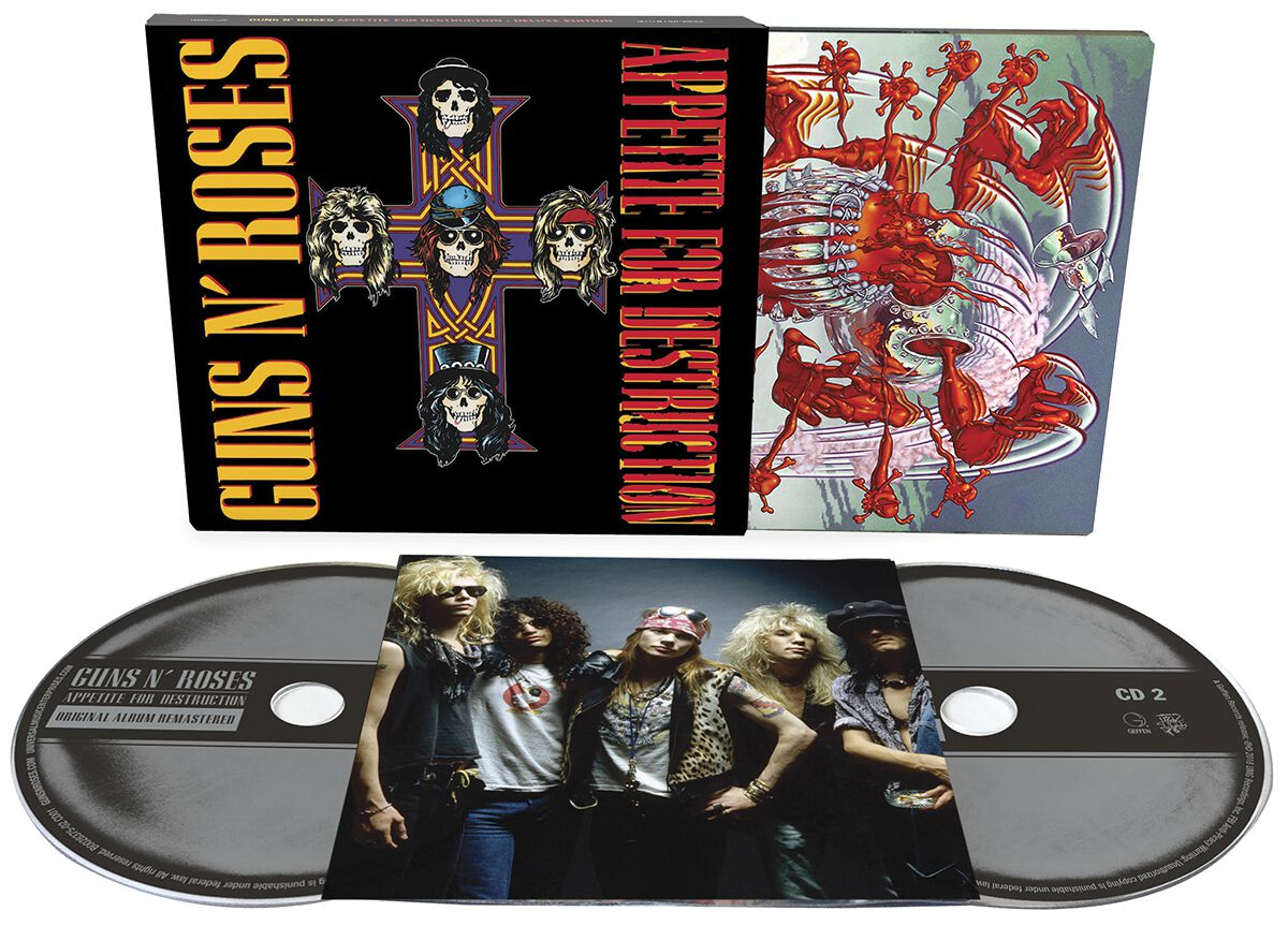 Guns N´ Roses Appetite for destruction 2-CD Sta...