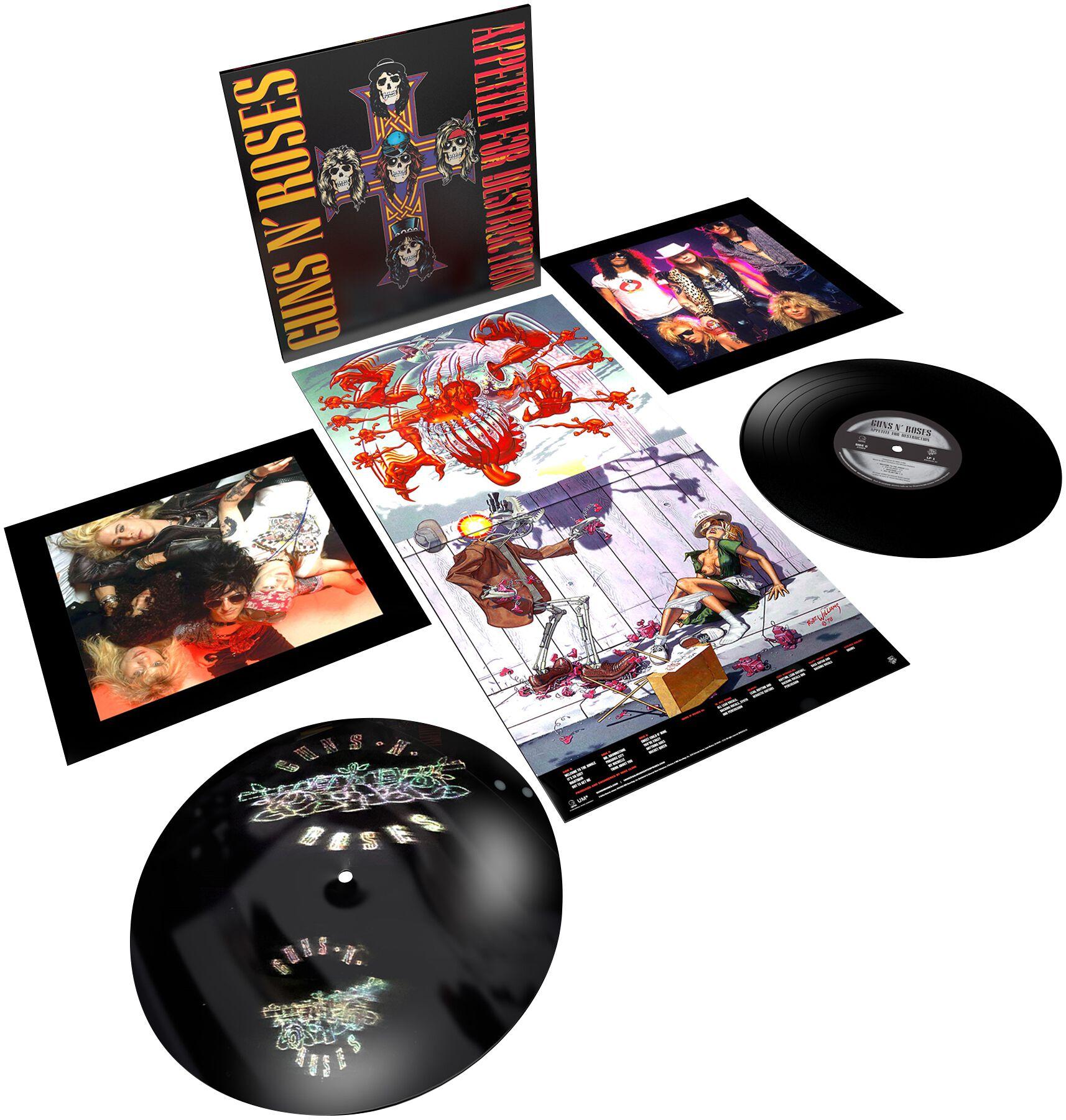 Image of   Guns N' Roses Appetite for destruction 2-LP standard