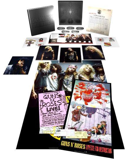 Image of Guns N' Roses Appetite for destruction 4-CD & Blu-ray Standard