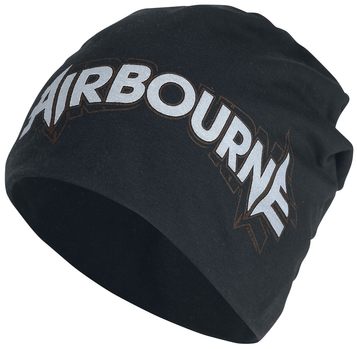 Image of   Airbourne Repeat Logo - Light Beanie Beanie sort