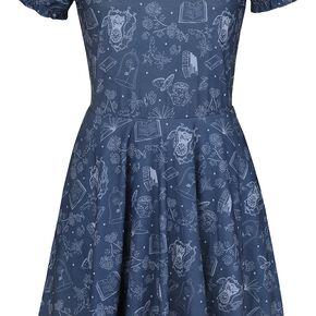 La Belle Et La Bête Classic Belle Robe bleu/blanc