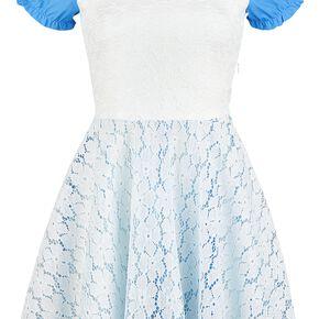Alice Au Pays Des Merveilles Cosplay Robe bleu/blanc