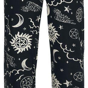 Supernatural Symbols Bas de pyjama noir