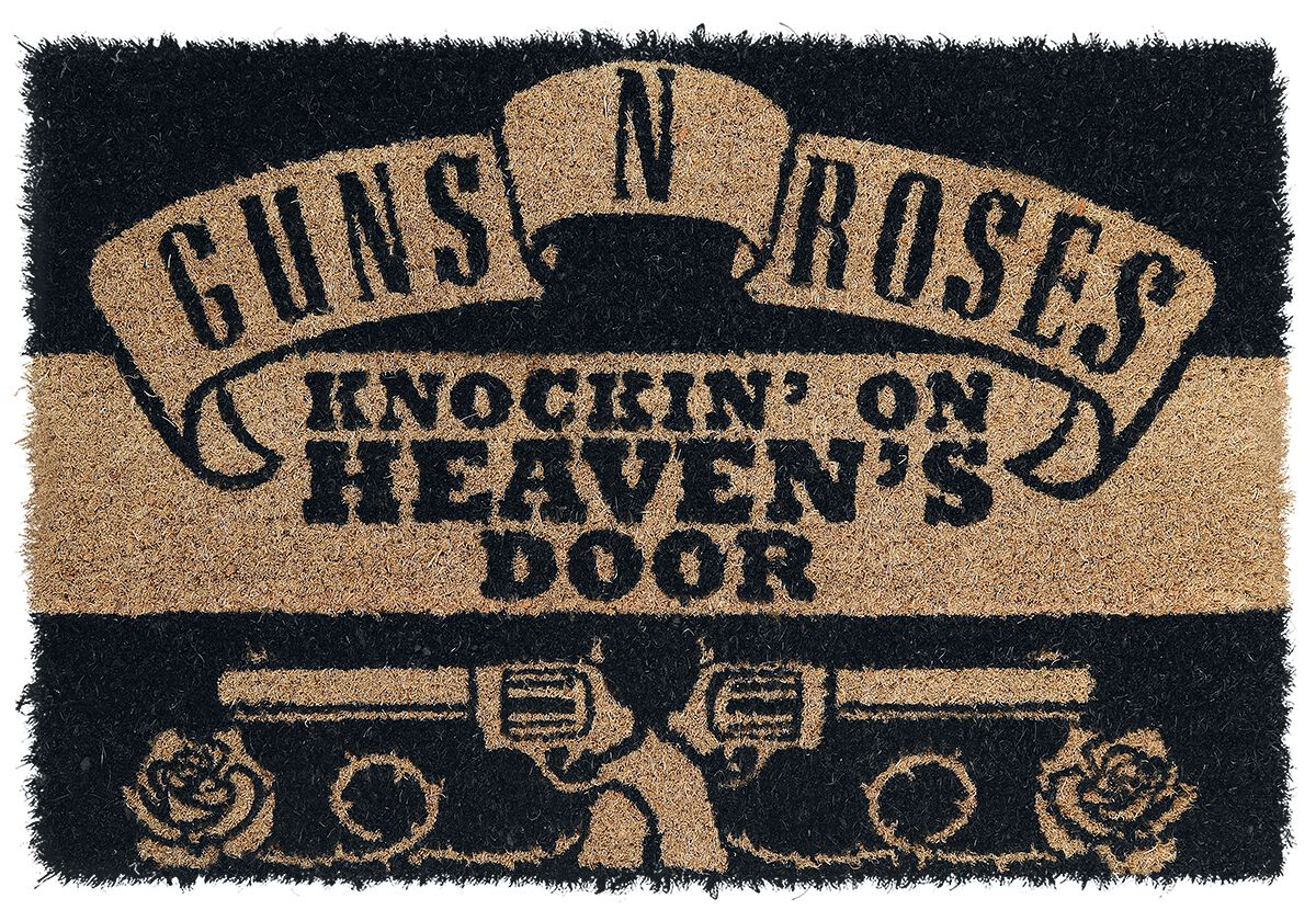 Image of   Guns N' Roses Knockin' on Heaven's Door Dørmåtte multifarvet