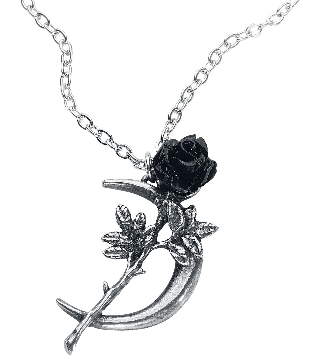Image of   Alchemy Gothic New Romance Halskæde sølvfarvet