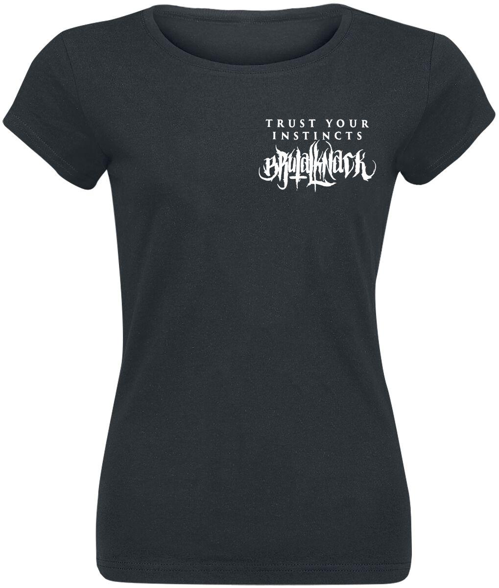 Brutal Knack Instincts Shirt Koszulka damska czarny