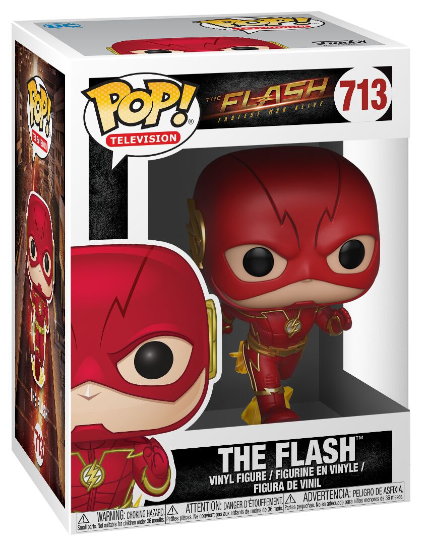Image of   The Flash The Flash Vinyl Figure 713 Samlefigur Standard