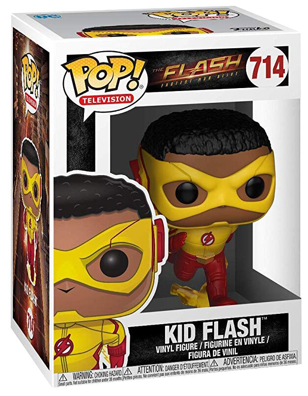 Image of   The Flash Kid Flash Vinyl Figure 714 Samlefigur Standard