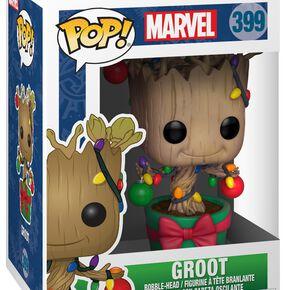 Figurine Pop! Groot Sapin de Noël - Marvel Holiday 2018