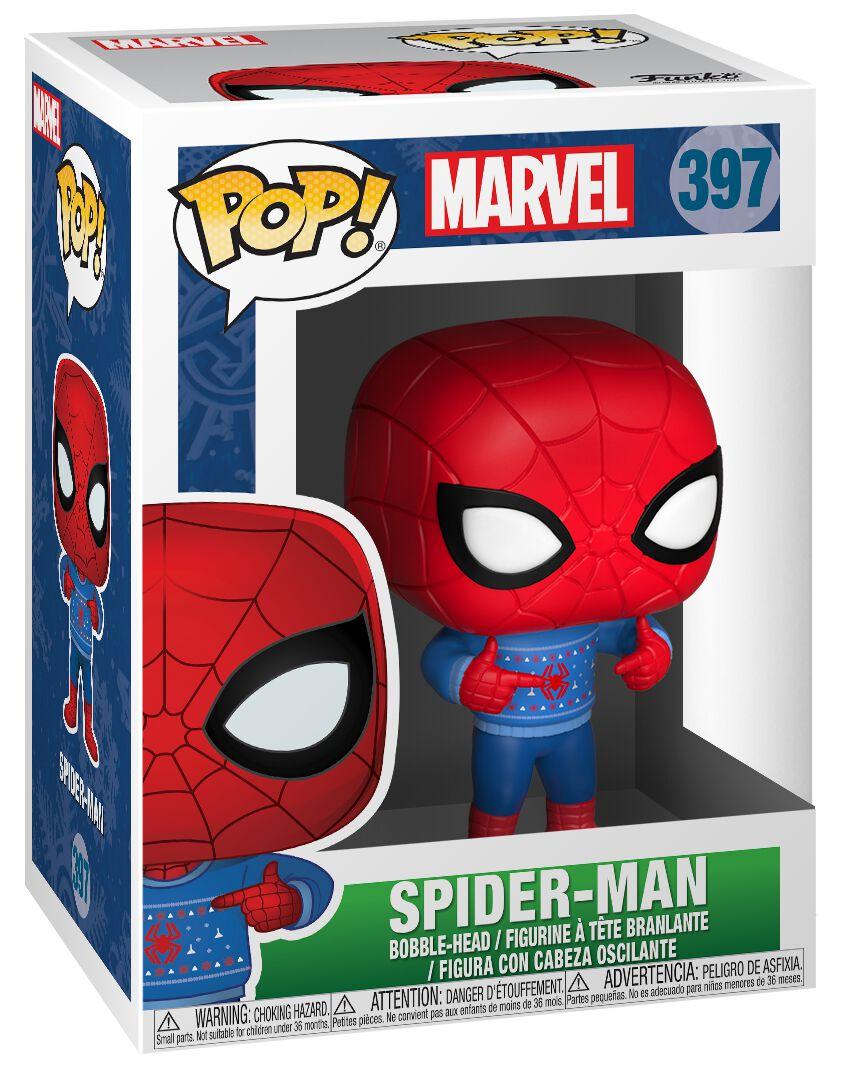 Image of   Spiderman Spider-Man (Holiday) Vinyl Figure 397 Samlefigur Standard