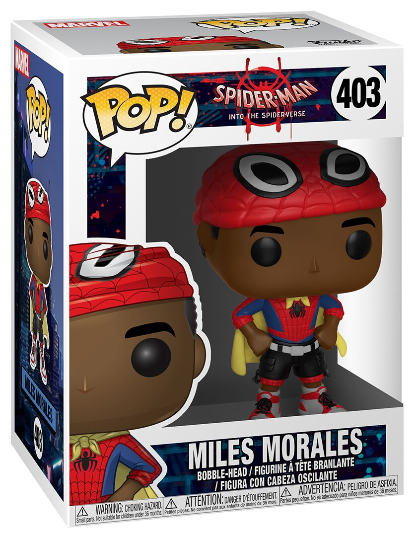 Image of   Spiderman Into The Spider-Verse - Miles Morales Vinyl Figure 403 Samlefigur Standard