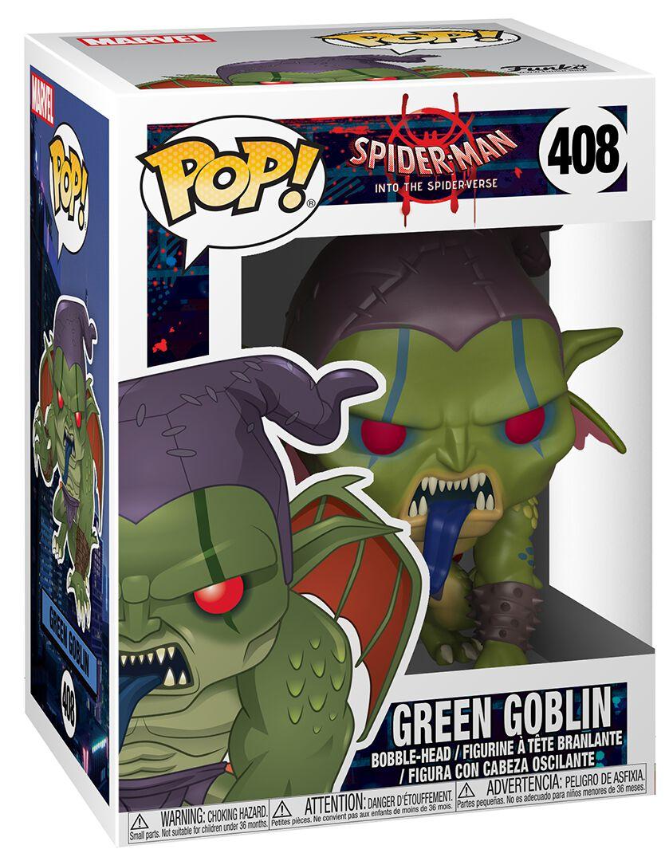 Image of   Spiderman Into The Spider-Verse - Green Goblin Vinyl Figure 408 Samlefigur Standard