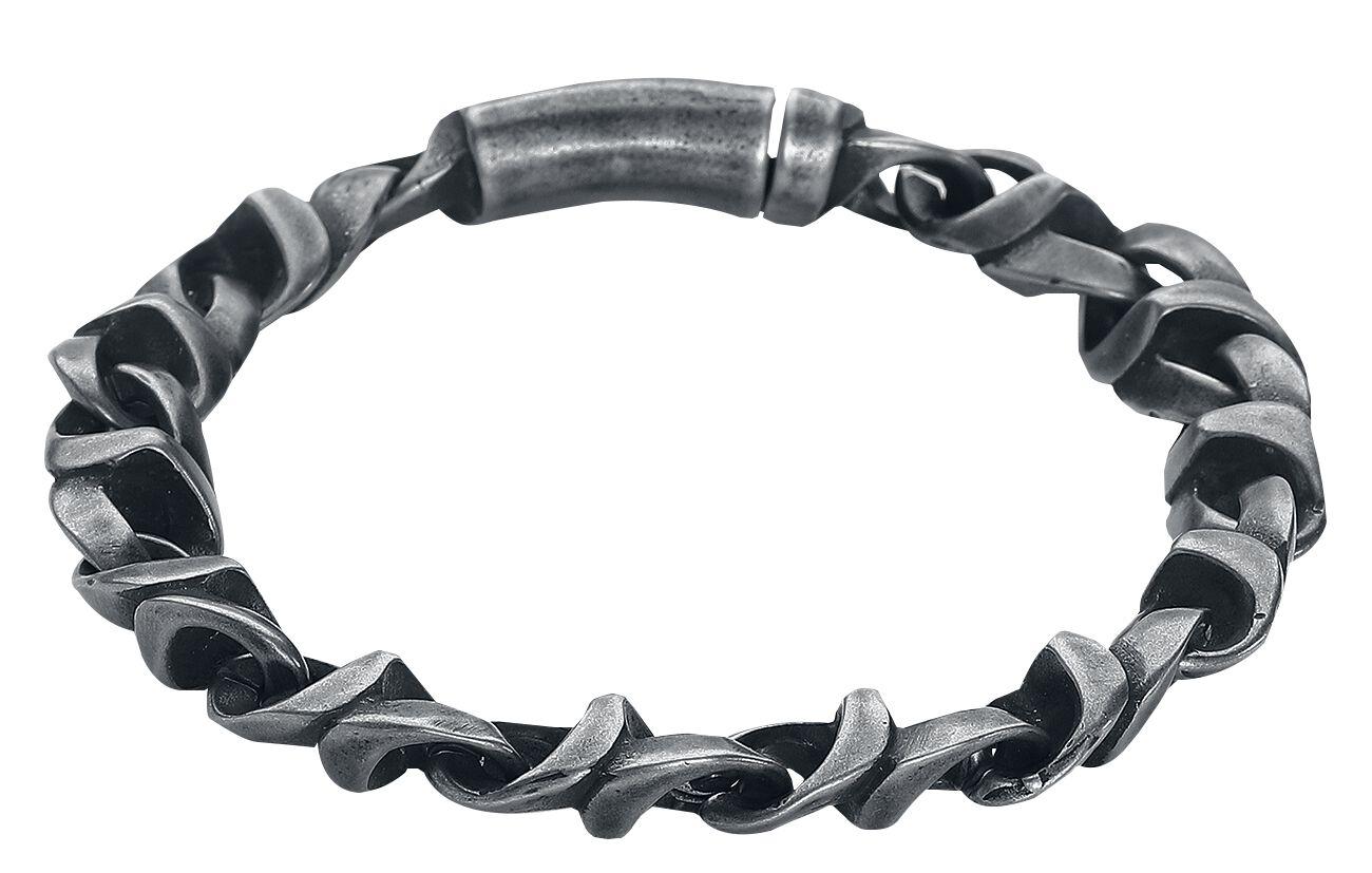 Image of   etNox hard and heavy Vintage Armbånd sølvfarvet