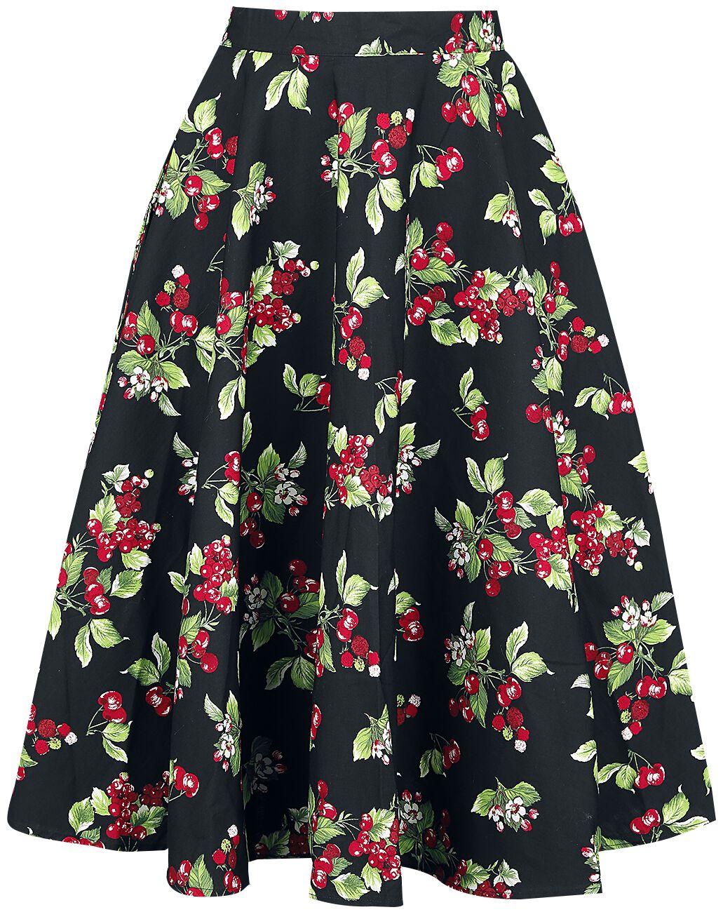 Hell Bunny Cherie 50´s Skirt Spódnica czarny