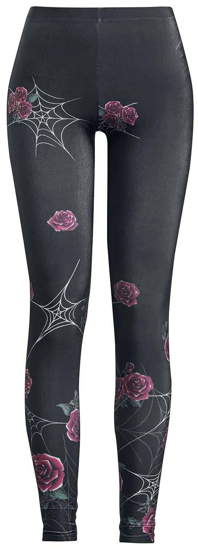 Hosen für Frauen - Hell Bunny Sabrina Leggings Leggings schwarz  - Onlineshop EMP