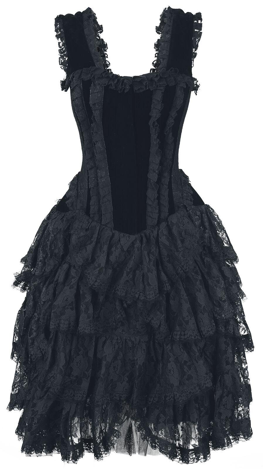 Image of   Burleska Aura Mini Skirt Nederdel sort
