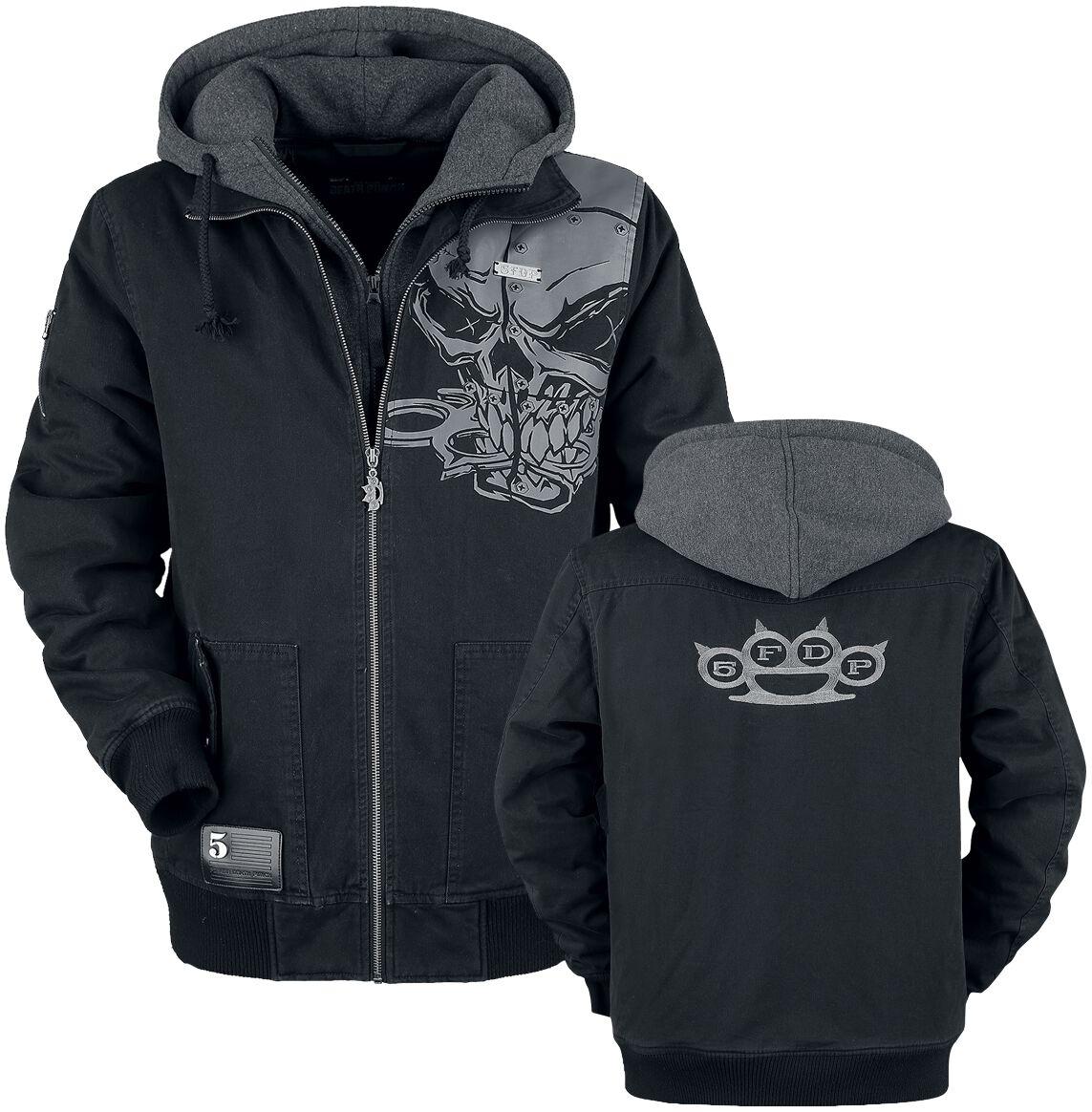 Image of   Five Finger Death Punch EMP Signature Collection Jakke meleret sort-gå