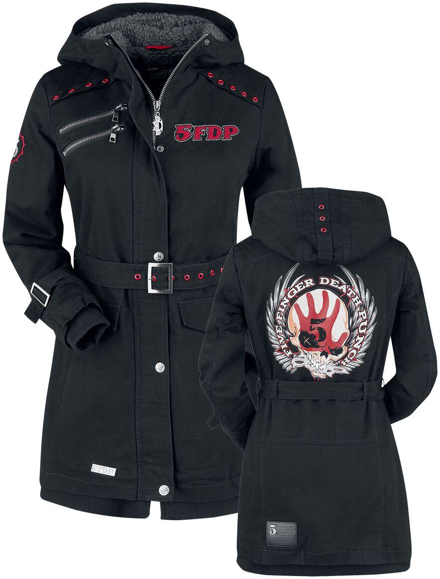 Image of   Five Finger Death Punch EMP Signature Collection Girlie jakke sort