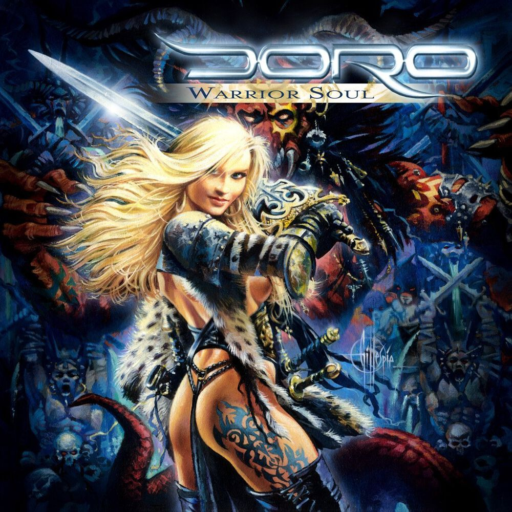 Doro Warrior soul CD Standard