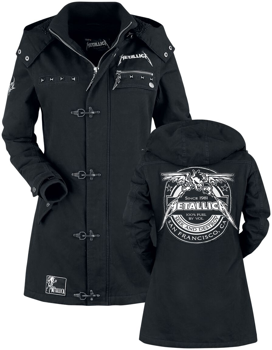 Metallica EMP Signature Collection Girl-Jacke schwarz