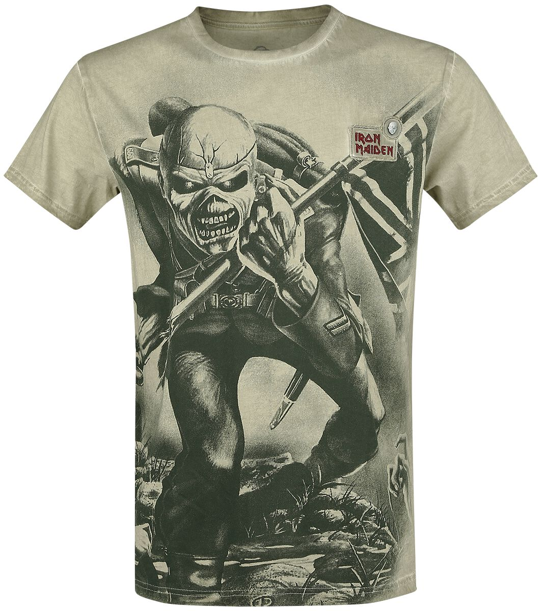 Image of   Iron Maiden EMP Signature Collection T-Shirt olivengrøn