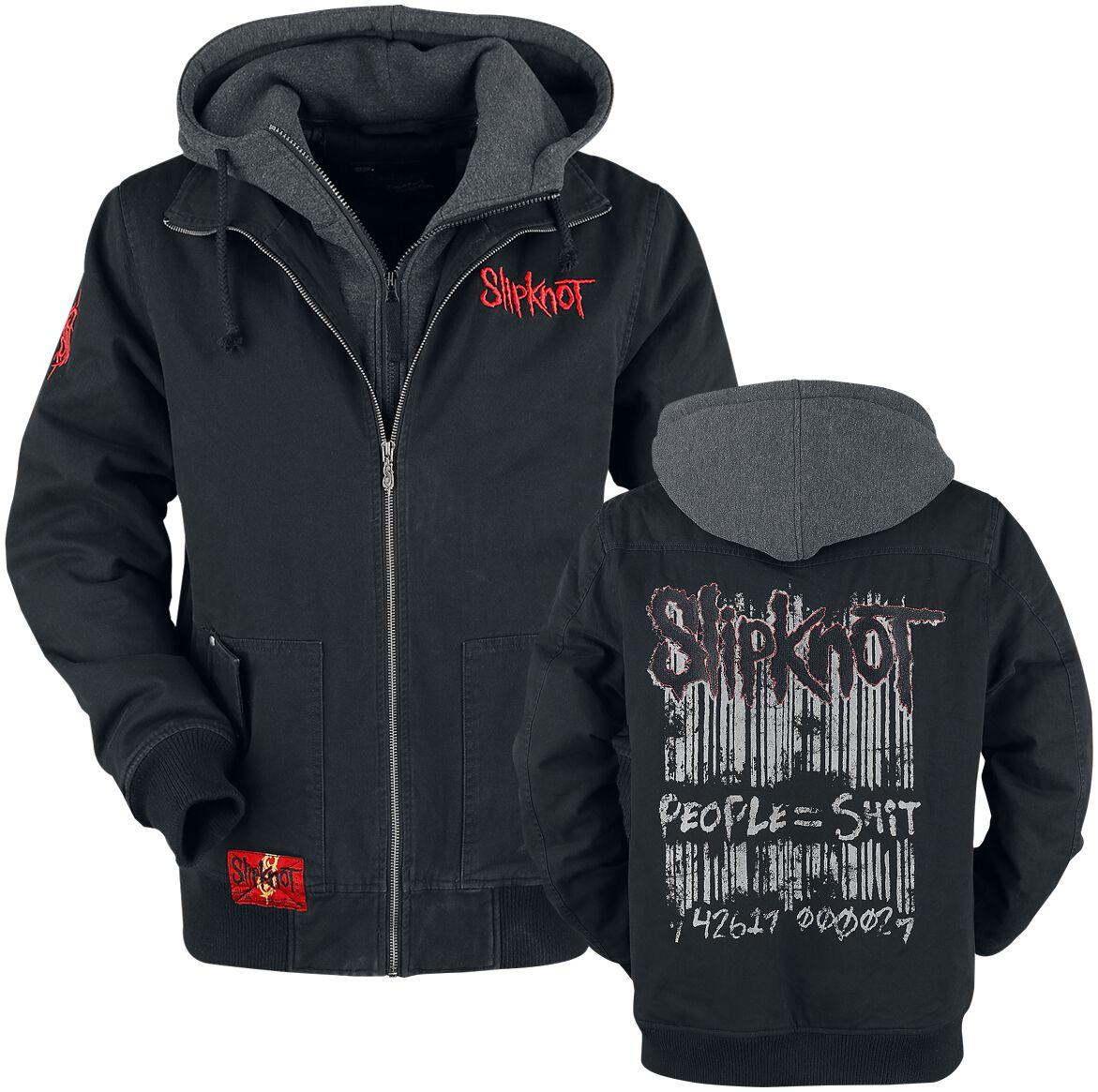 Image of   Slipknot EMP Signature Collection Jakke meleret sort-gå