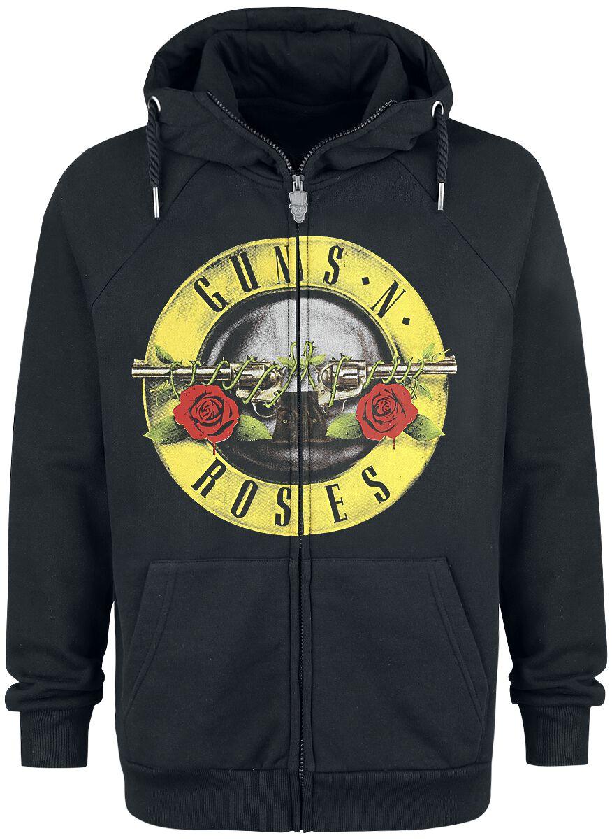 3de5c2e14cea Guns Napos Roses Bullet Logo Baseball Jersey sort