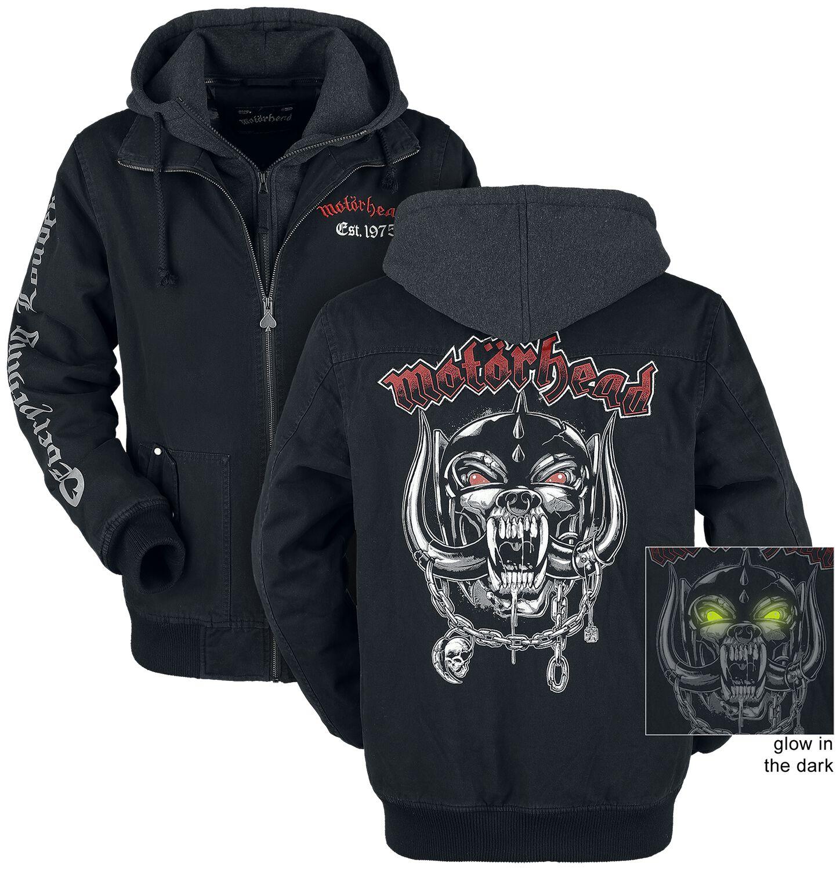 Image of   Motörhead EMP Signature Collection Jakke meleret sort-gå