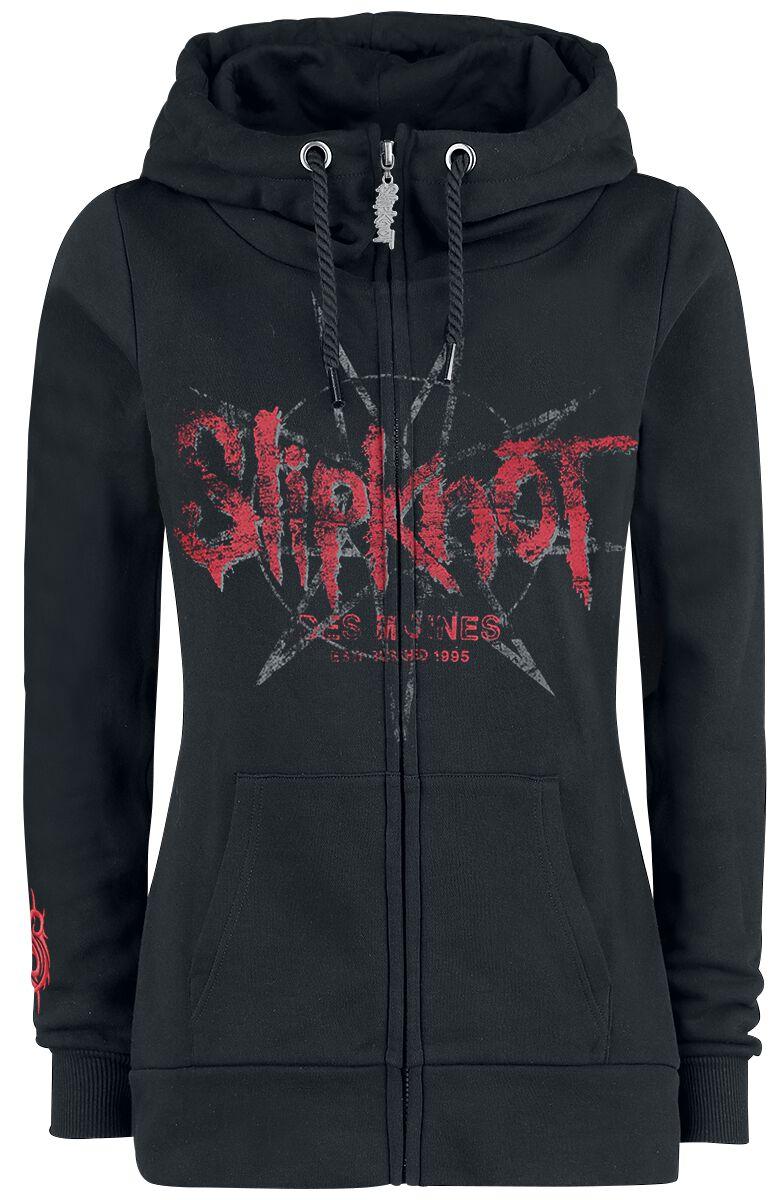 Image of   Slipknot EMP Signature Collection Girlie hættejakke sort