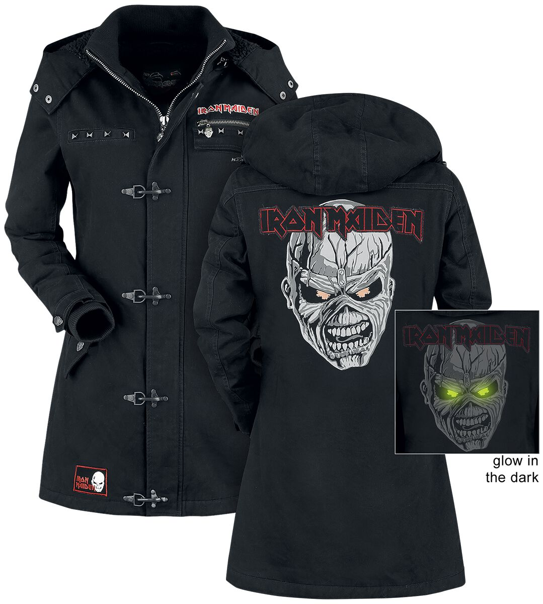 Image of   Iron Maiden EMP Signature Collection Girlie jakke sort