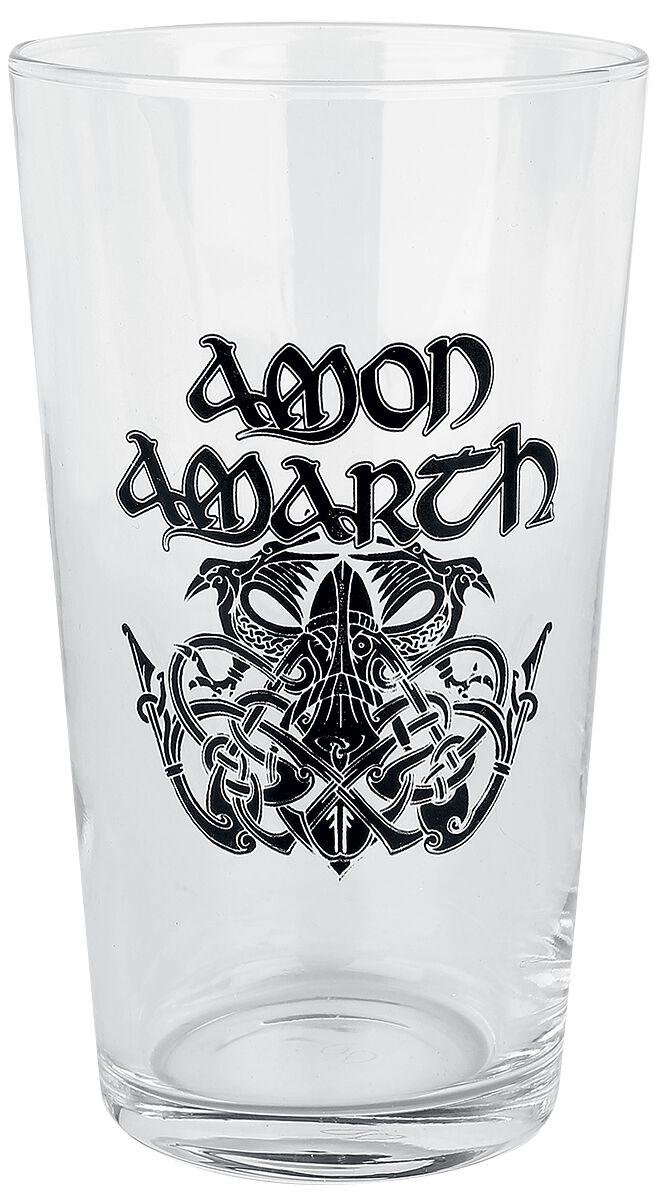 Image of   Amon Amarth Jomsviking Ølglas gennemsigtig